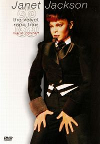 Cover Janet Jackson - The Velvet Rope Tour - Live In Concert [DVD]